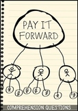 Pay it Forward Movie Guide + Activities - Answer Key Included