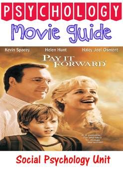 Pay it Forward Movie questions for Social Psychology Unit