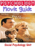 Psychology Pay it Forward Movie Guide for Social unit