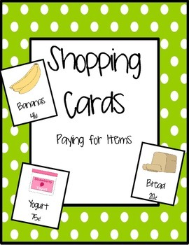 Paying for Items: Shopping Cards