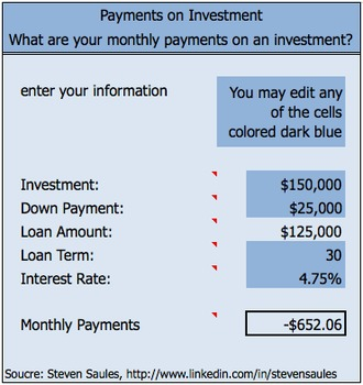 Payments on Investment