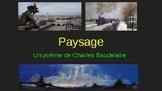 Paysage- un poème de Charles Baudelaire
