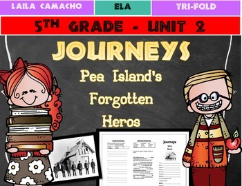 Journeys Grade 5 Trifold (Pea Island's Forgotten Heroes)