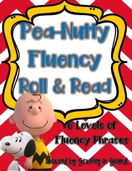 Pea-Nutty Fluency Phrase Roll & Read (All 6 Levels!)