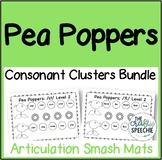 Pea Poppers: Articulation Smash Mats Bundle for Consonant