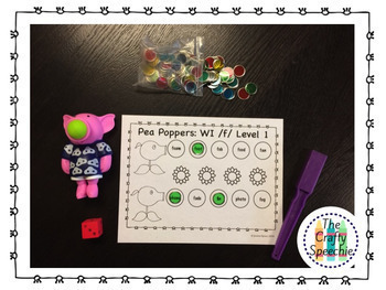 Pea Poppers: Articulation Smash Mats for /k, g/