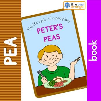 Pea life cycle  book