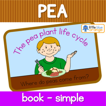 Pea life cycle book (simplified version)