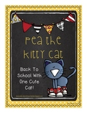 Pea the Kitty Cat-Back to School With One Cute Cat