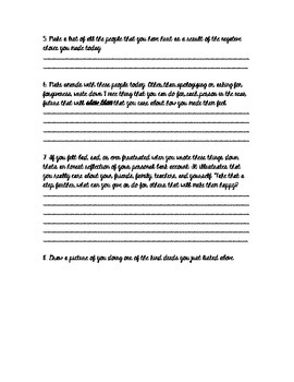 Classroom Management: Peaceful Person Essay