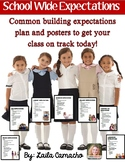 School Wide Expectations (Editable)