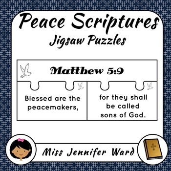 Peace Bible Scriptures Puzzles