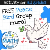 FREE - Peace Bird - Group mural