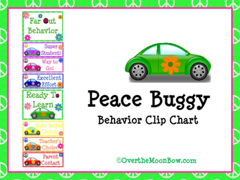 Peace Buggy Behavior Clip Chart