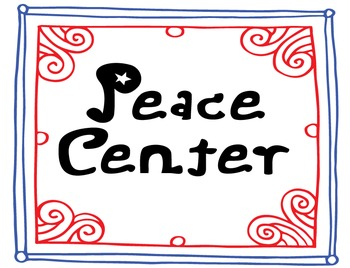Peace Center Printables