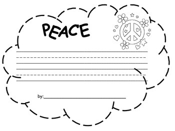Peace Clouds for Martin Luther King, Jr