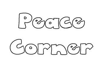 Peace Corner for Conflict Resolution