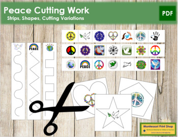 Peace Cutting Strips