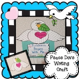 Peace Dove Writing and Craft Activity, Dr. Martin Luther K