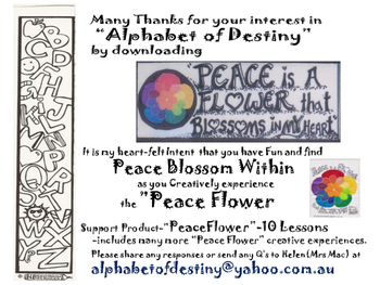 Peace Flower -Intro- 3 Layers of Awareness