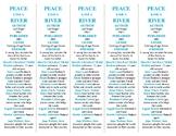 Peace Like a River edition of Bookmarks Plus: Fun Freebie/Handy Reading Aid!
