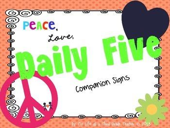 Peace, Love, Daily 5