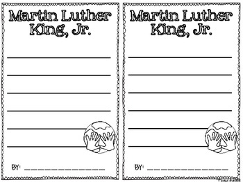 Peace Love & Dreams {Martin Luther King Craftivities and Writing}