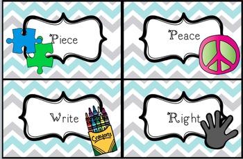 Peace, Love, & Homophones