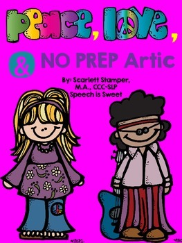 Peace, Love, and Articulation: NO PREP