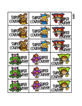 Super Hero Counting