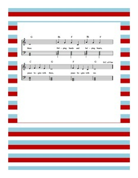 Peace Begins With Me Sheet Music (also called Peace For The Children)