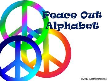 Peace Out Alphabet
