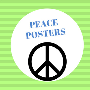 Peace Posters (8.5 x 11) posters.