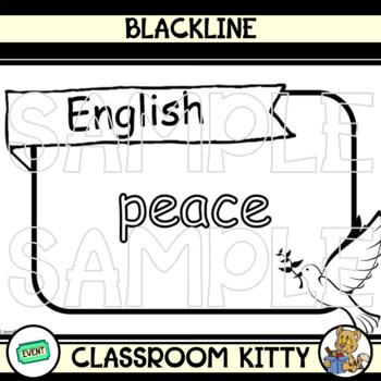 Peace Posters (Blackline)