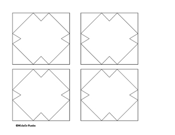 Peace Quilt - Coloring Templates and Directions - 9-11 Project