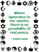 Peace Quotation Signs with Writing Prompts, Paperless Version