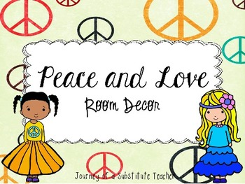 Peace  Room Decor Pack