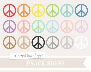 Peace Sign Clipart; Symbol, Icon