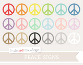 Peace Sign Clipart; Symbol, Icon