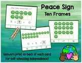 Peace Sign Ten Frames