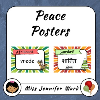 Peace Posters Christmas Version