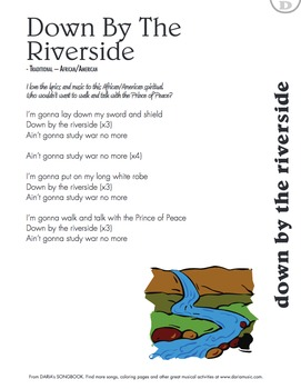 Peace Songs For Kids - Down By The Riverside (Song and Lyrics)
