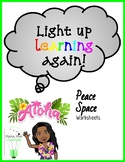 Peace Space Worksheets
