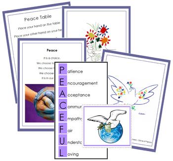 Peace Table Cards