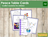 Peace Table Cards
