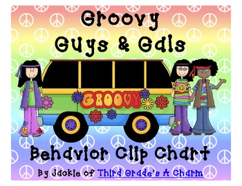 Peace Themed Clip Chart and Behavior Bookmark