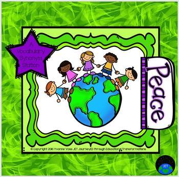 Peace Vocabulary Station