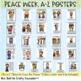 Peace Week Posters (A-Z Peaceful Character Traits)