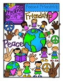Peace and Friendship {Creative Clips Digital Clipart}