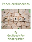 Peace and Kindness Activity Pack